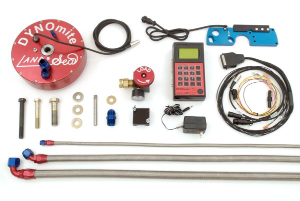 Standard DYNOmite PWC Engine Dyno kit (shown without its portable carrying case, or any of the optional pump mounting adapter kits).