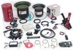 Partial array of available DYNOmite Dynamometer accessories and add-ons.