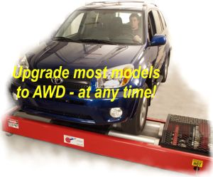 Upgrade to AWD at any time