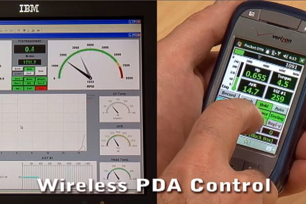 Wireless 'Pocket DYNO-MAX' Control