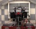Harley Dealer's Motorcycle Dynamometer Video clip